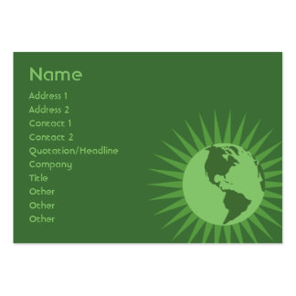 Green - Chubby Pack Of Chubby Business Cards