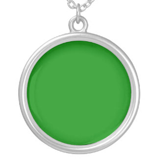 Green Circle Necklace