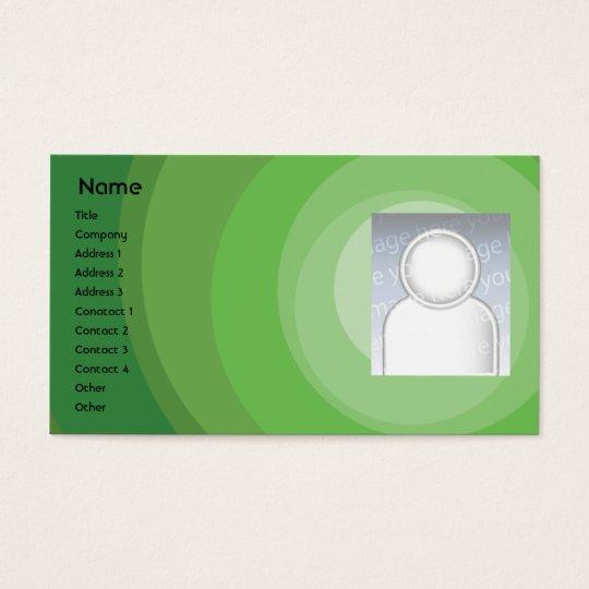 Green Circle Shades - Business Business Card