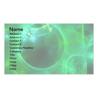 Green Circles Business Card