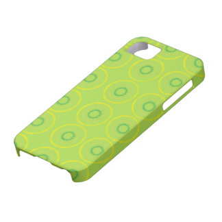 Green circles iPhone 5 cases
