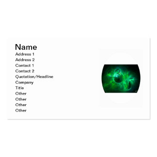 Green Circles Pack Of Standard Business Cards