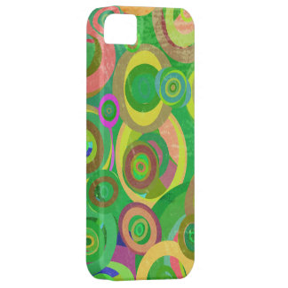 green circles patterns textures iPhone 5 cases