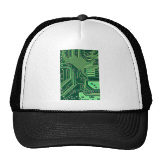 Green Circuit Board - Electronic Print Cap