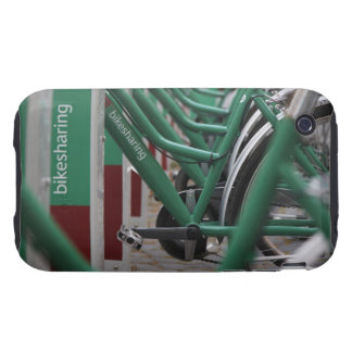 Green city transport iPhone 3 tough cases
