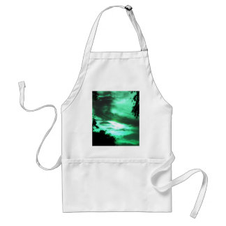 Green Clouded Sky Apron