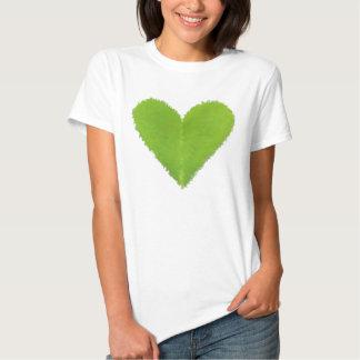 Green Clover Heart Shirts