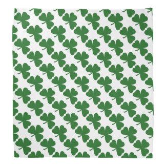 Green Clover Pattern St. Patrick's Day  Bandana
