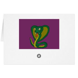 Green Cobra Card