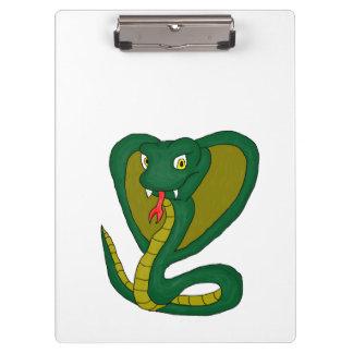 Green cobra clipboard