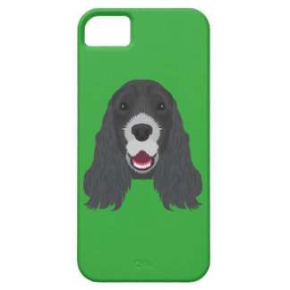 Green Cocker Spaniel Barely There iPhone 5 Case
