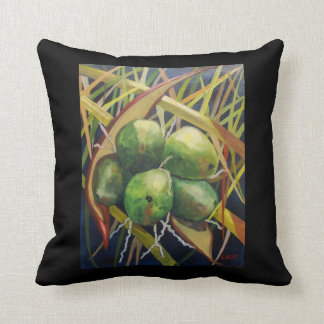 Green Coconuts Pillow