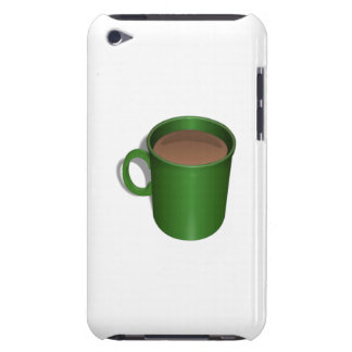 Green Coffee Cup Barely There iPod Covers