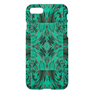 green colored circle line pattern iPhone 8/7 case