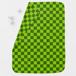 Green Combination Classic Checkerboard by STaylor Baby Blanket