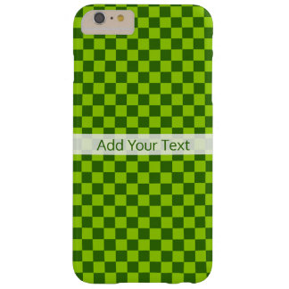 Green Combination Classic Checkerboard by STaylor Barely There iPhone 6 Plus Case