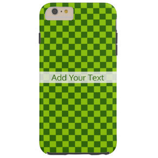 Green Combination Classic Checkerboard by STaylor Tough iPhone 6 Plus Case