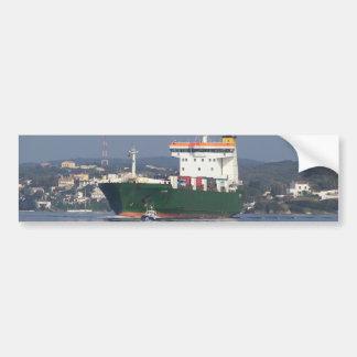 Green Commercial Vehical Ferry Bumper Sticker