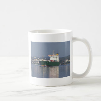 Green Commercial Vehical Ferry Coffee Mugs