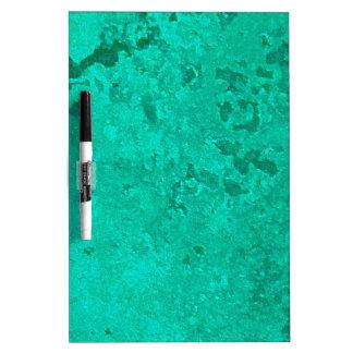 Green Copper Verdigris Patina Dot Dry Erase Board