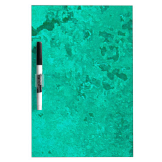 Green Copper Verdigris Patina Dot Dry Erase Whiteboards
