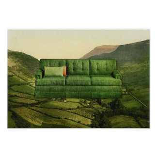 Green Couch Poster