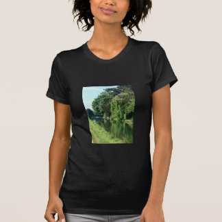 Green countryside on a beautiful sunny day. T-Shirt