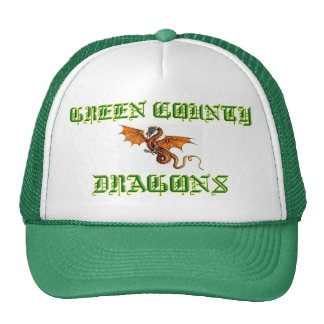 Green County Dragons Hat