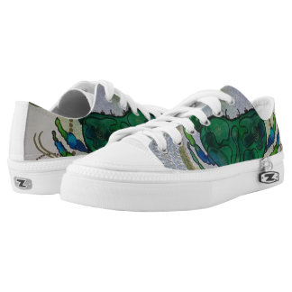 Green crab low tops