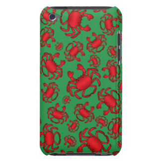 Green crab pattern barely there iPod covers