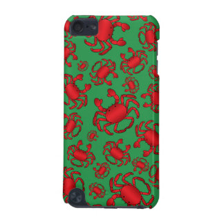 Green crab pattern iPod touch (5th generation) case
