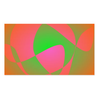 Green Cracks Business Card Template