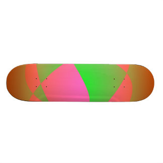 Green Cracks Skateboard