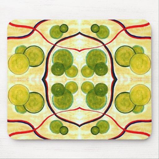 Green Cream Float Mousepad