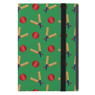 green cricket pattern cover for iPad mini