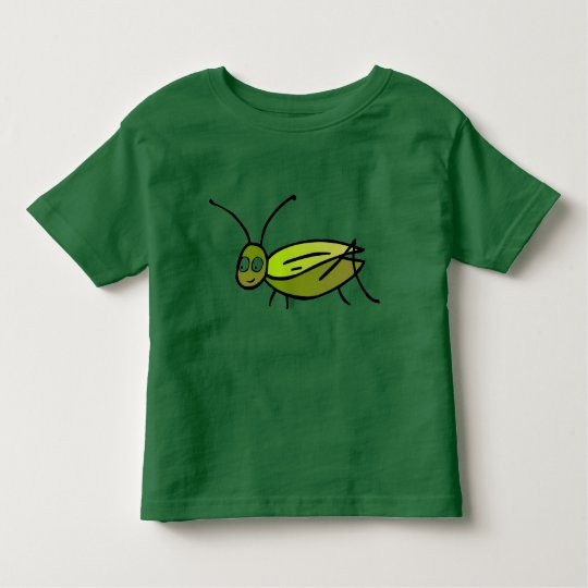 Green Cricket Toddler Tee