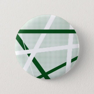 Green Criss Cross Halftone 6 Cm Round Badge