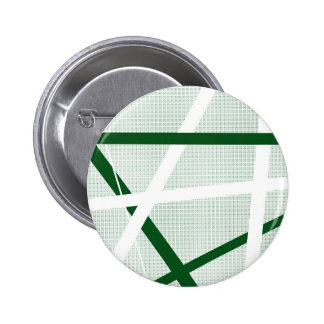 Green Criss Cross Halftone 6 Cm Round Badge