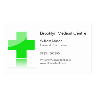 Green Cross Healthcare Medical Center - Bus Card Pack Of Standard Business Cards