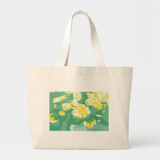 Green Crucification -  Save the Green Large Tote Bag
