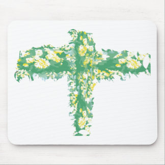 Green Crucification -  Save the Green Mouse Pad