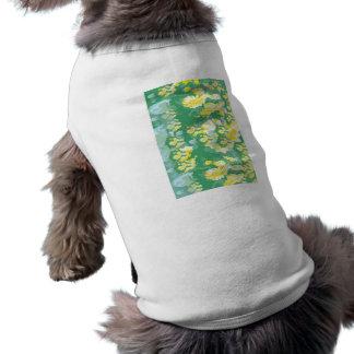 Green Crucification -  Save the Green Sleeveless Dog Shirt