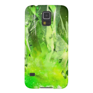 Green Crystal Galaxy S5 Cases