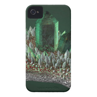 Green crystal iPhone 4 cover
