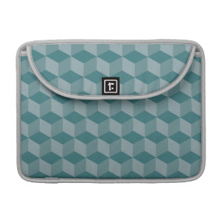 Green Cubes Sleeve For MacBook Pro