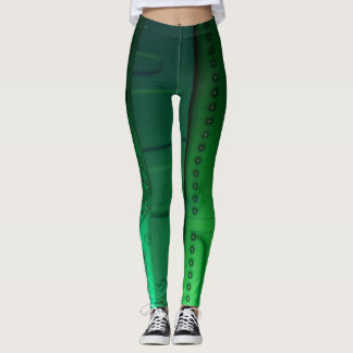 Green Curcitboard Leggings