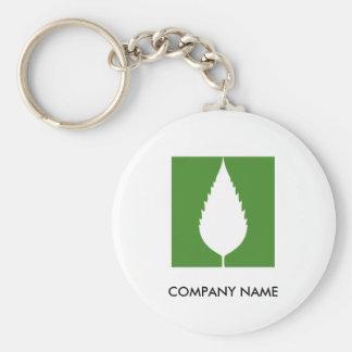 Green Customizable Keychain 1