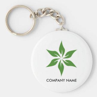 Green Customizable Keychain 3