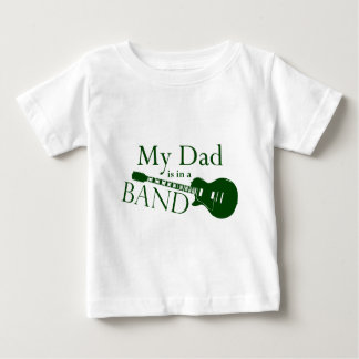 Green Dad is in a Band T-shirt