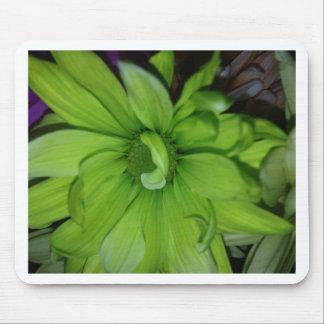 Green Daisies Mousepad